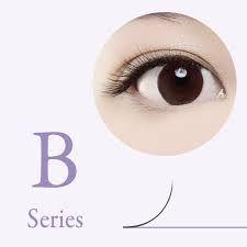 characteristics of B curl eyelash extensions